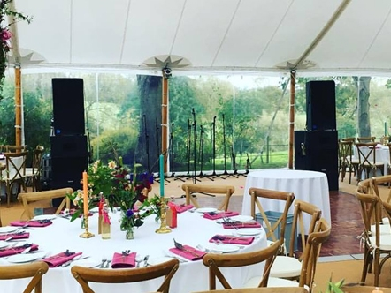Band PA System for Private Wedding